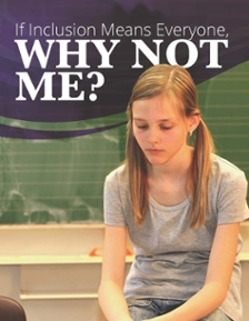 If Inclusion Means Everyone, Why Not Me? Report Cover